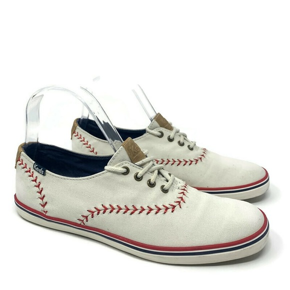 Keds Baseball Canvas Sneakers Tennis Canvas Stitch